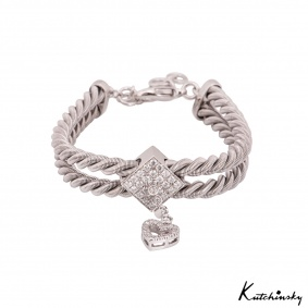 Kutchinsky White Gold Diamond Bracelet